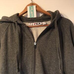 Fila women's hoodie - small 90's Vintage Clothing Full Zip