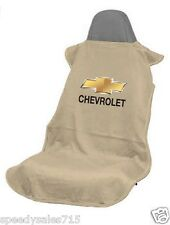 Seat Armour SA100CHVT Tan Chevrolet Seat Cover Bowtie Logo New Free Shipping