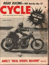 1952 October Cycle - Vintage Motorcycle Magazine
