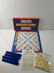 Scrabble Board Game Edition Murfett Regency 1988 100% Complete with instructions