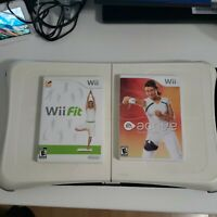 Nintendo Wii Fit Balance Board EA Active Bundle Clean Tested Complete Japanese