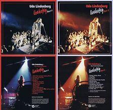 Udo Lindenberg: Livehaftig 1+2 1979! 17 Songs! Digital remastered! Zwei neue CD!