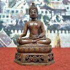 16  Collectible Asian Bronze Shakyamuni Buddha Statue From Chiang Saen Thailand