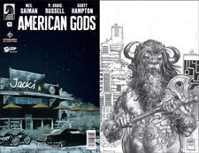 American Gods - Shadows #1 | Jetpack Exclusive Sketch Variant | Dark Horse 2017