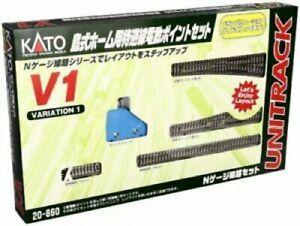 Kato 20-860 N gauge V1 Passing Loop Variation Pack 40-804 4949727514666