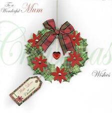 Per una meravigliosa MAMMA SPECIALE Luxury Handmade cartolina di Natale Xmas CARDS