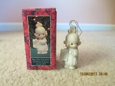 Precious Moments Ornament But The Greatest Of These Is Love Dated 1992 527696