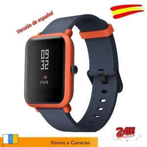 Reloj Xiaomi Amazfit Bip Smartwatch NARANJA-ROJO GPS Español. Envio 24H ESPAÑA