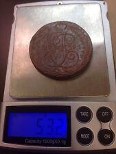 5 Kopeks 1795 Original Old Russian Coin 53.3g