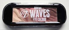 W7 Making Waves 5 Colour Eye Shadow Fools Gold Nude Shades