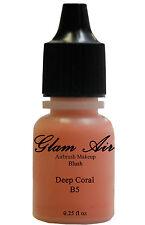 New Glam Air Airbrush B5 Deep Coral Blush Water-based Makeup