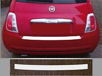 Lackschutzfolie Ladekantenschutz transparent Fiat 500 und 500C Cabrio, 2007-2016