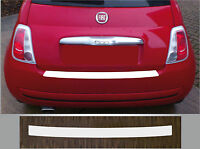 Lackschutzfolie Ladekantenschutz transparent Fiat 500, ab 2007