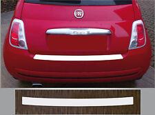 De protection transparent feuille pare-chocs transparent Fiat 500 et 500 C Cabriolet, ab 2007