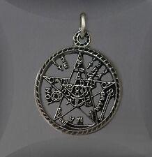 Massives Pentagramm ... Abwehr und Schutz ... Silber 925