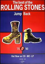 """ROLLING STONES POSTER """"JUMP BACK"""""""