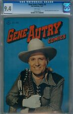 Gene Autry #8 July 1947 CGC 9.4 Photo Cover White Pages Highest Graded