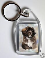 Lhasa Apso Key Ring By Starprint - No 1