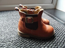 Boys' Leather Slip - on Baby Boots