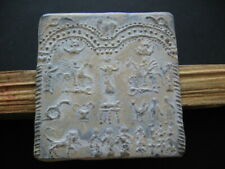 DANUBIAN HORSEMAN CULT ANCIENT CELTIC ROMAN LEAD VOTIVE PLAQUE 1-3 ct.AD 84 mm