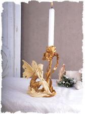 Vintage Kerzenhalter Elfe Mädchenfigur Im Jugendstil antik Look