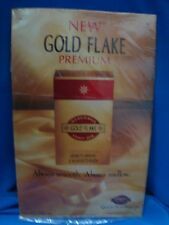 Old vintage Tin Gold Flake Cigarette   sign board from India 1960.