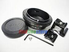 Tripod Canon FD Lens to Micro 4/3 M4/3 Adapter E-P3 E-PL2 E-PM1 DMC-G1 G3 + CAP