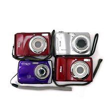Lot of (4) 10Mp+ Digital Cameras Nikon, Kodak, VistaQuest for Parts/Repair