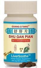 Guang Ci Tang, Shu Gan Pian,  LiverSoothe, 200 mg, 200 ct