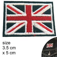 British Flag iron on patch UK flag Great Britain flag Union Jack iron-on patches