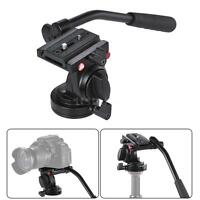 Nikon Canon Video Photography Fluid Drag Hydraulic Tripod Head for Camera Y4D3