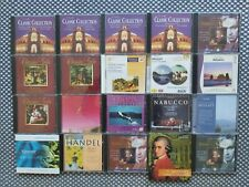 CD-Sammlung Klassik + Klassiker, 46 Stk.