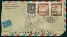 Mayfairstamps Chile 1930s Rancagua to New Jersey Panagra Airmail cover wwo1265