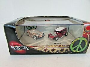 MATTEL 55478 HOT WHEELS DIECAST BLOOD SWEAT GEARS BEATNIK BANDIT LIL COFFIN LotD