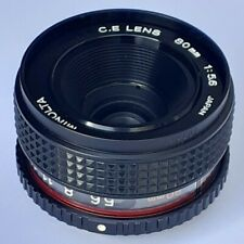 80mm enlarging lens Minolta C.E. 80mm f5.6 for 2.25cm square roll film format.