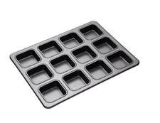 Moldes de hornear rectangulares de acero para tartas y bizcochos