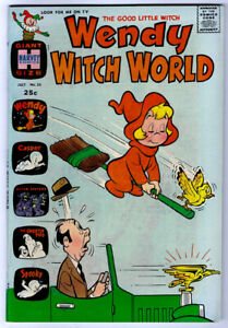 WENDY WITCH WORLD #25 in VF condition a Harvey 1968 Silver Age comic w/ Casper