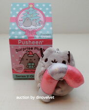 PUSHEEN CANDY CANE SURPRISE PLUSH CHRISTMAS BLIND BOX SERIES 2 NEW ORNAMENT CAT