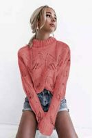 Autumn Blouse Women's Casual Long Sleeve Knitted T-shirt Fashion Sweater Solid