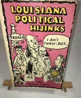 *Signed* LOUISIANA POLITICAL HIJINKS  by Clyde C. Vidrine -  Edwin Edwards