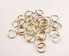 Nickel Silver Jump Ring 18 Ga Wire 6 MM O/D (pkg.Of 280 / 1 Oz Saw-Cut  USA