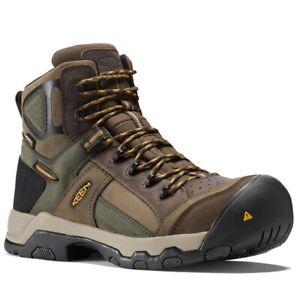 Keen Men's DAVENPORT AL WATERPROOF MID Composite Toe Safety Boots 1016962