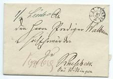 GERMANY/PRUSSIA: Prephilatelic cover from Salzwedel.