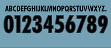 kit nome + numero x maglia lazio nero in flok puma