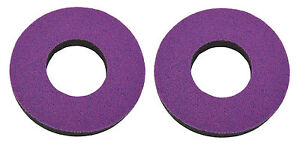 Flite old school BMX bicycle grip foam donuts - MAGENTA PURPLE *MADE IN USA*