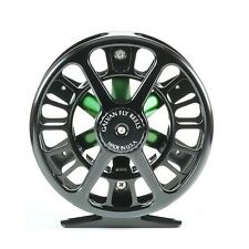 Galvan SPOKE S-3 Light Tackle Fly Reel - Fliegenrolle - #2 3 4 - BLACK/GREEN