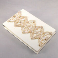 Beverly Clark The Luxe Collection Wedding Guest Book Ivory