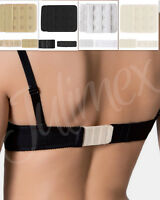 Rallonge de Soutien-Gorge crochets Noir Blanc Beige Ecru extension Julimex BA03