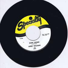 LARRY WILLIAMS - SLOW DOWN / DIZZY MISS LIZZY (Legendary sax/piano ROCKIN' JIVER