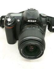 NikonD50  Digital SLR Camera - Black w/ ED 18-55mm 1:3.5-5.6GII Lens #F772
